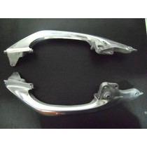 Alca Traseira Nxr Bros 150 Aluminio Cinza Par Frete Grátis