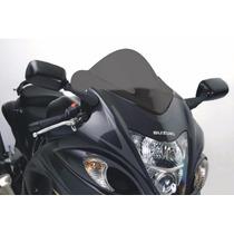 Parabrisa Bolha Para Moto Suzuki Gsx-r Hayabusa Fume Escura