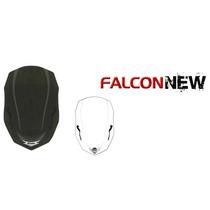 Bolha Estilo Parabrisa Nx4 Falcon Fumê Ou Cristal