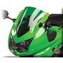Bolha Parabrisa Esportivo Kawasaki Ninja 250 2009/2012 Verde