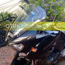 Bolha Otuky 3mm Moto Yamaha Tdm 900 Alongado Alto Impacto