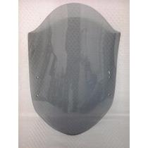 Parabrisa Universal Xre 300 Cristal Ou Fume C Kit Fixacao