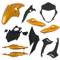 Kit Carenagem P/ Cb 300 Ano 2010 2011 - Amarelo Perolizado