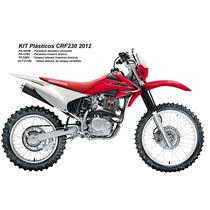 Kit Plastico Crf 230 Completo Protork 2012 Em Diante Brindes