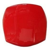 Carenagem Do Farol Honda Pop 100 07/08 Vermelho Melc Alta Q