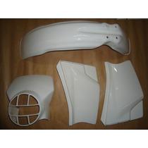 Kit Plasticos Honda Xl 125 84 Até 92 Branca