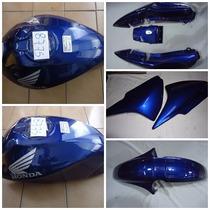 Kit Titan 150 Azul 08 Carenagem + Tanque + Brinde