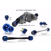 Kit Slider Tampas Procton Racing Suzuki Gsx-r 750 Srad
