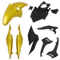 Caranagem Kit Plásticos Honda Cb300r Tork Cb 300 Amarelo