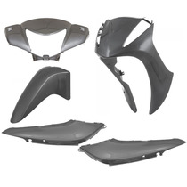 Kit Plasticos Carenagem Completo Honda Biz 125 2011 A 2013