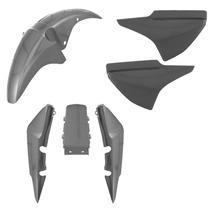 Kit Plástico Carenagem - Honda Cg Titan 150 Sport 2007 Prata