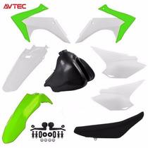 Kit Adaptação Crf 230 Avtec 2015 - Verde + Tanque + Banco