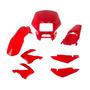 Kit Carenagem P/ Nxr Bros 125 150 Ano 2006 - Vermelho