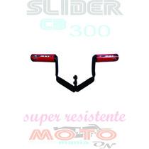 Slider Cb300 Cb 300 Mt Acessorios, Proteção! Frete Grátis!!