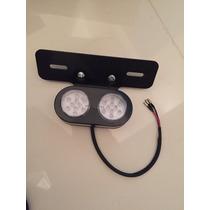 Suporte Placa Lanterna Moto Custom