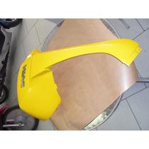 Carenagem Frontal Inferior Lado Dir. Dafra Laser 150 Amarela