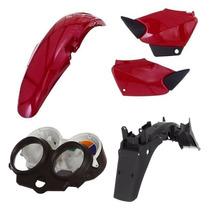 Kit Carenagem Plastico P/ Titan 125 Ano 2000 2001 E 2004