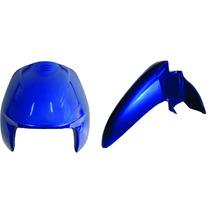 Bico+paralamal Biz 100 E Biz + Azul Perolizado 2002/2003