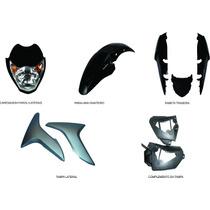Carenagem Kit Completo Titan 150 Preto 2009