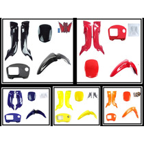 Kit De Carenagem Honda Pop 100 ( P / V / A / Ama / Laranja )