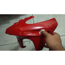 Carenagem Inferio Motor Dafra Riva 150 Vermelho Lado Direito