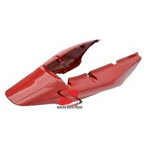 Rabeta Modelo Novo P/ Adaptar Cbx250 Twister 04/05 Vermelha