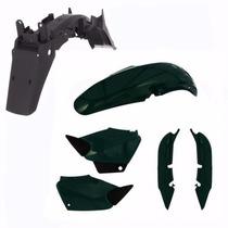 Kit Carenagem + Paralama Traseiro Titan 125 Ano 2004 - Verde