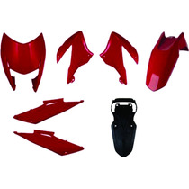 Carenagem Bros 150 Vermelho 2011/2012 Kit Completo