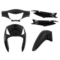 Kit Plásticos Carenagem Completo Honda Biz 125 2006 Á 2010
