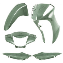 Kit Plástico Carenagem P/ Biz 125 Ano 2011 - Verde Metálico