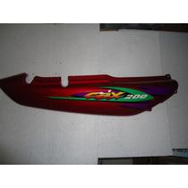 Rabeta Lateral Direita Cbx 200 Strada 99 Vermelha Original