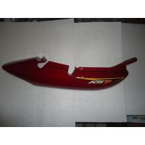 Rabeta Lateral Direita Titan 2003 Ks Vermelha Original Honda