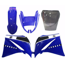 Kit Carenagem Xt660 Azul C/ Bolha Bombachinijetcross