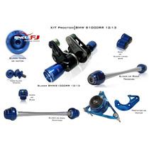 Kit Slider Procton Bmw S1000rr 12/13 Azul/vermelho/dourado