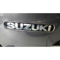 Par Emblema Da Tampa Lateral Intruder 125 2010/2016 Suzuki