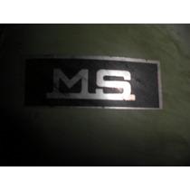 Lambretta Ms 150 Emblema Dianteiro Novo