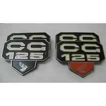 Emblema Tampa Lateral Honda Cg125 77 A 82 (par)