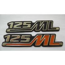 Emblema Tampa Lateral Honda Ml125