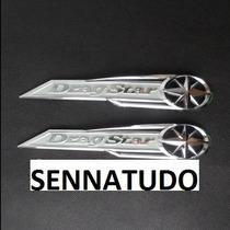 Emblema (par) Tanque Yamaha Drag Star