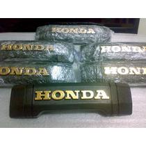 Emblema Frontal Honda Cb400 Dourado,de Pvc Igual Ao Original