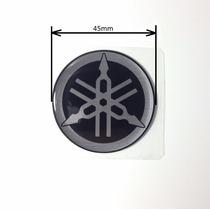 Adesivo Logo Original Emblema Diapasão Yamaha 45mm (par)
