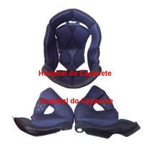 Forro Forração Espuma Capacete Ls2 Ff369 58 60 Ou 62