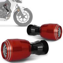 Slider Cb 500f Dianteiro Honda Moto Evolution Vermelho