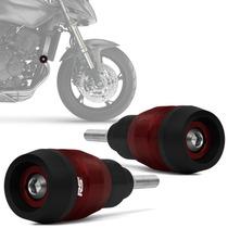 Slider Hornet 2008 A 2014 Dianteiro Racing Vermelho Rsi Moto