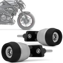 Slider Z800 2013 2014 Racing Kawasaki Branco Fosco Rsi Moto