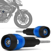 Slider Z750 2009 A 2012 Racing Kawasaki Rsi Moto Azul Par