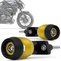 Slider Z800 2013 2014 Racing Kawasaki Rsi Moto Dourado Claro
