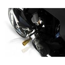Slider Alumínio Naval Mj Racing Para Dafra Next 250 + Brinde
