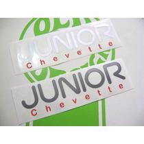 Adesivos Chevette Junior Gm Estampado 3m Origin - Old Design
