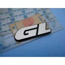 Emblema Logotipo Gl Tampa Porta Malas Gol Parati Voyage